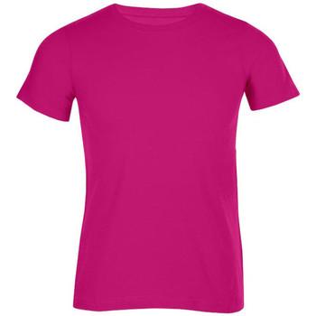 Vêtements Homme T-shirts manches courtes Promodoro T-shirt bio grandes tailles Hommes fushia
