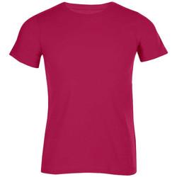 Vêtements Homme T-shirts manches courtes Promodoro T-shirt bio grandes tailles Hommes rouge cerise