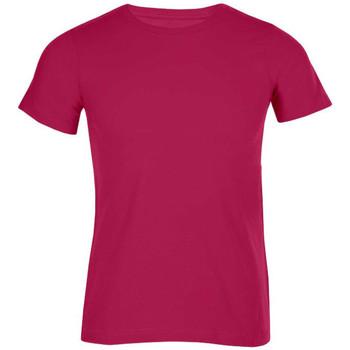 Vêtements Homme T-shirts manches courtes Promodoro T-shirt bio hommes rouge cerise