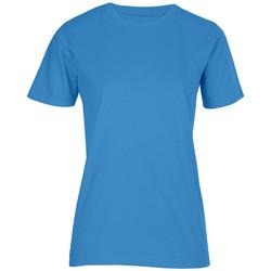 Vêtements Femme T-shirts manches courtes Promodoro T-shirt bio grandes tailles Femmes turquoise