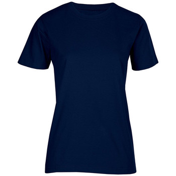 Vêtements Femme T-shirts manches courtes Promodoro T-shirt bio grandes tailles Femmes bleu marine