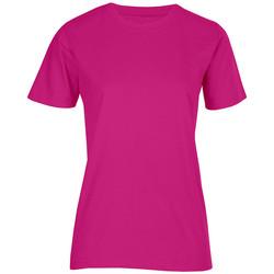 Vêtements Femme T-shirts manches courtes Promodoro T-shirt bio Femmes fushia