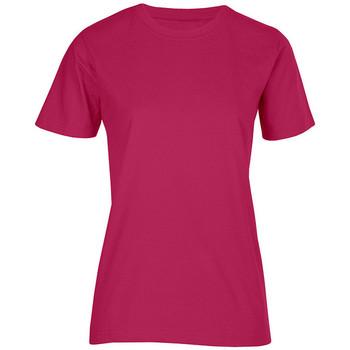 Vêtements Femme T-shirts manches courtes Promodoro T-shirt bio Femmes rouge cerise