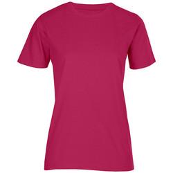 Vêtements Femme T-shirts manches courtes Promodoro T-shirt bio grandes tailles Femmes rouge cerise