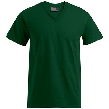 Vêtements Homme T-shirts manches courtes Promodoro T-shirt Premium col V Hommes vert forêt
