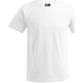 Vêtements Homme T-shirts manches courtes Promodoro T-shirt Premium grandes tailles Hommes blanc