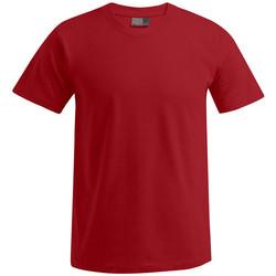 Vêtements Homme T-shirts manches courtes Promodoro T-shirt Premium grandes tailles Hommes rouge feu
