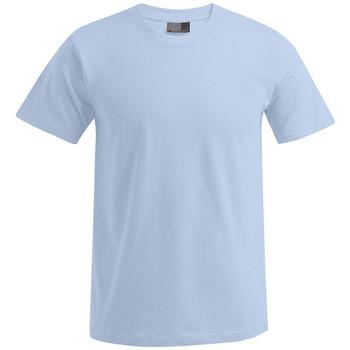 Grandes shirts Hommes Bleu Tailles shirt Homme Manches T T Courtes Premium Vêtements Clair Promodoro rCxWQdoEBe