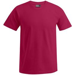Vêtements Homme T-shirts manches courtes Promodoro T-shirt Premium grandes tailles Hommes rouge cerise