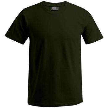 Vêtements Homme T-shirts manches courtes Promodoro T-shirt Premium grandes tailles Hommes kaki