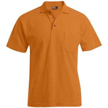 Vêtements Homme Polos manches courtes Promodoro Polo épais poche Hommes orange