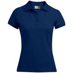 Vêtements Femme Polos manches courtes Promodoro Polo 92-8 Femmes bleu marine