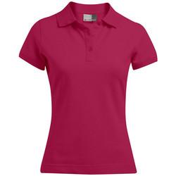 Vêtements Femme Polos manches courtes Promodoro Polo 92-8 Femmes rouge cerise