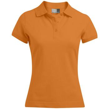 Vêtements Femme Polos manches courtes Promodoro Polo 92-8 grandes tailles Femmes orange