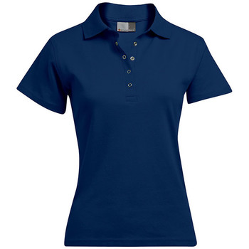 Vêtements Femme Polos manches courtes Promodoro Polo interlock grandes tailles Femmes bleu marine