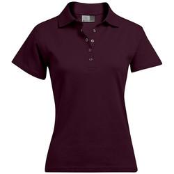 Vêtements Femme Polos manches courtes Promodoro Polo interlock Femmes bourgogne