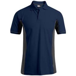 Vêtements Homme Polos manches courtes Promodoro Polo fonctionnel Hommes bleu marine / gris