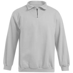 Vêtements Homme Sweats Promodoro Sweat Camionneur grandes tailles Hommes gris clair chiné