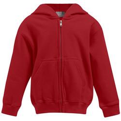 Vêtements Enfant Sweats Promodoro Veste à capuche Enfants rouge feu