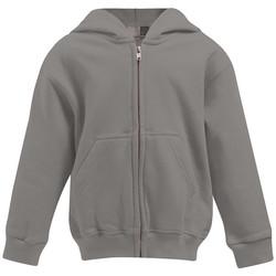 Vêtements Enfant Sweats Promodoro Veste à capuche Enfants gris