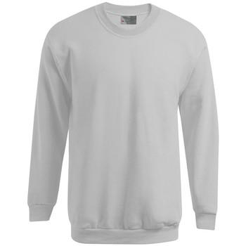 Vêtements Homme Sweats Promodoro Sweat Premium grandes tailles Hommes gris clair chiné