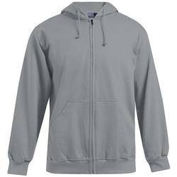 Vêtements Homme Sweats Promodoro Veste sweat capuche zippée 80-20 grandes tailles Hommes gris foncé-mélange