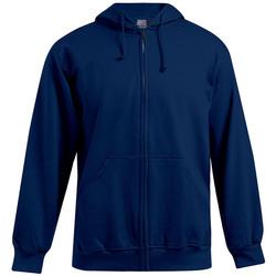 Vêtements Homme Sweats Promodoro Veste sweat capuche zippée 80-20 grandes tailles Hommes bleu marine