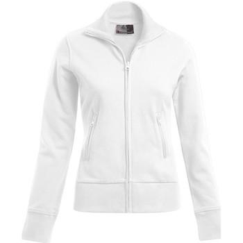 Vêtements Femme Sweats Promodoro Veste col montant grandes tailles Femmes blanc