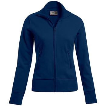 Vêtements Femme Sweats Promodoro Veste col montant Femmes bleu marine