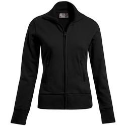Vêtements Femme Sweats Promodoro Veste col montant Femmes noir