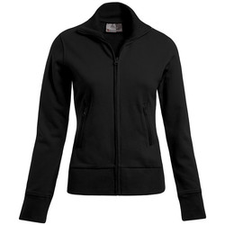 Vêtements Femme Sweats Promodoro Veste col montant grandes tailles Femmes noir