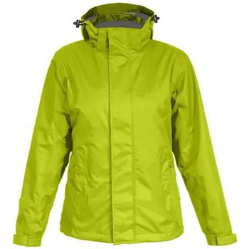 Vêtements Homme Coupes vent Promodoro Veste Performance C+ grandes tailles Hommes Vert lime