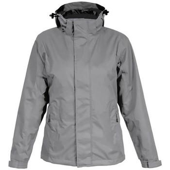 Vêtements Homme Coupes vent Promodoro Veste Performance C+ grandes tailles Hommes gris acier