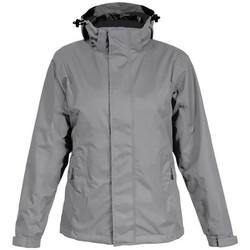 Vêtements Homme Coupes vent Promodoro Veste Performance C+ Hommes gris acier