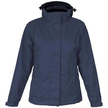 Vêtements Femme Coupes vent Promodoro Veste Performance C+ grandes tailles Femmes bleu marine