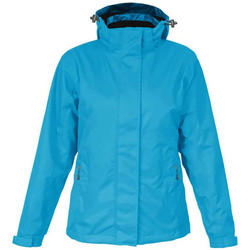 Vêtements Femme Coupes vent Promodoro Veste Performance C+ grandes tailles Femmes Bleu azur