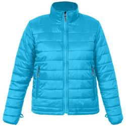 Vêtements Femme Doudounes Promodoro Veste doudoune C+ grandes tailles Femmes Bleu azur