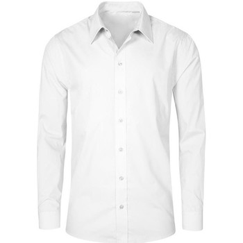 Vêtements Homme Chemises manches longues Promodoro Chemise Business manches longues grandes tailles Hommes blanc