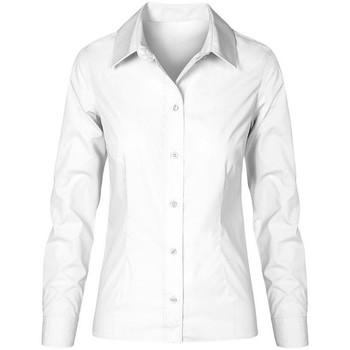 Vêtements Femme Chemises / Chemisiers Promodoro Chemise Business manches longues grandes tailles Femmes blanc