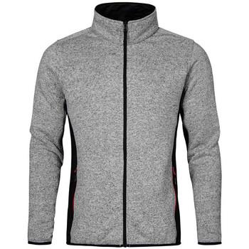 Vêtements Homme Polaires Promodoro Veste de travail en laine grandes tailles Hommes gris chiné