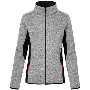 Vêtements Femme Polaires Promodoro Veste de travail en laine Femmes gris chiné