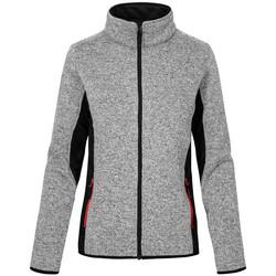 Vêtements Femme Polaires Promodoro Veste de travail en laine grandes tailles Femmes gris chiné