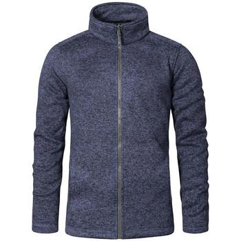 Vêtements Homme Polaires Promodoro Veste en laine C+ grandes tailles Hommes bleu chiné