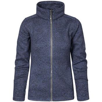Vêtements Femme Polaires Promodoro Veste en laine C+ Femmes bleu chiné