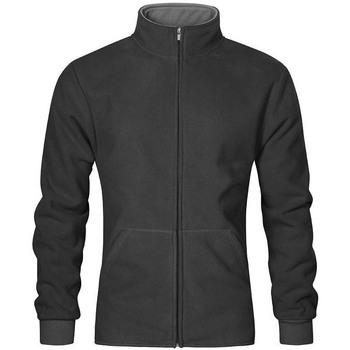Vêtements Homme Polaires Promodoro Veste polaire doublée grandes tailles Hommes graphite - gris