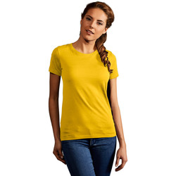 Vêtements Femme T-shirts manches courtes Promodoro T-shirt Premium Femmes or