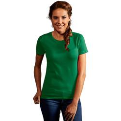 Vêtements Femme T-shirts manches courtes Promodoro T-shirt Premium Femmes vert kelly