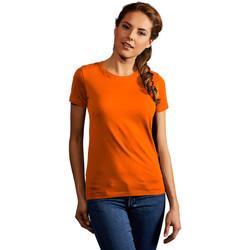 Vêtements Femme T-shirts manches courtes Promodoro T-shirt Premium Femmes orange