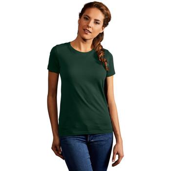 Vêtements Femme T-shirts manches courtes Promodoro T-shirt Premium Femmes vert forêt