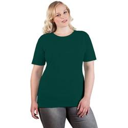 Vêtements Femme T-shirts manches courtes Promodoro T-shirt Premium grandes tailles Femmes vert forêt